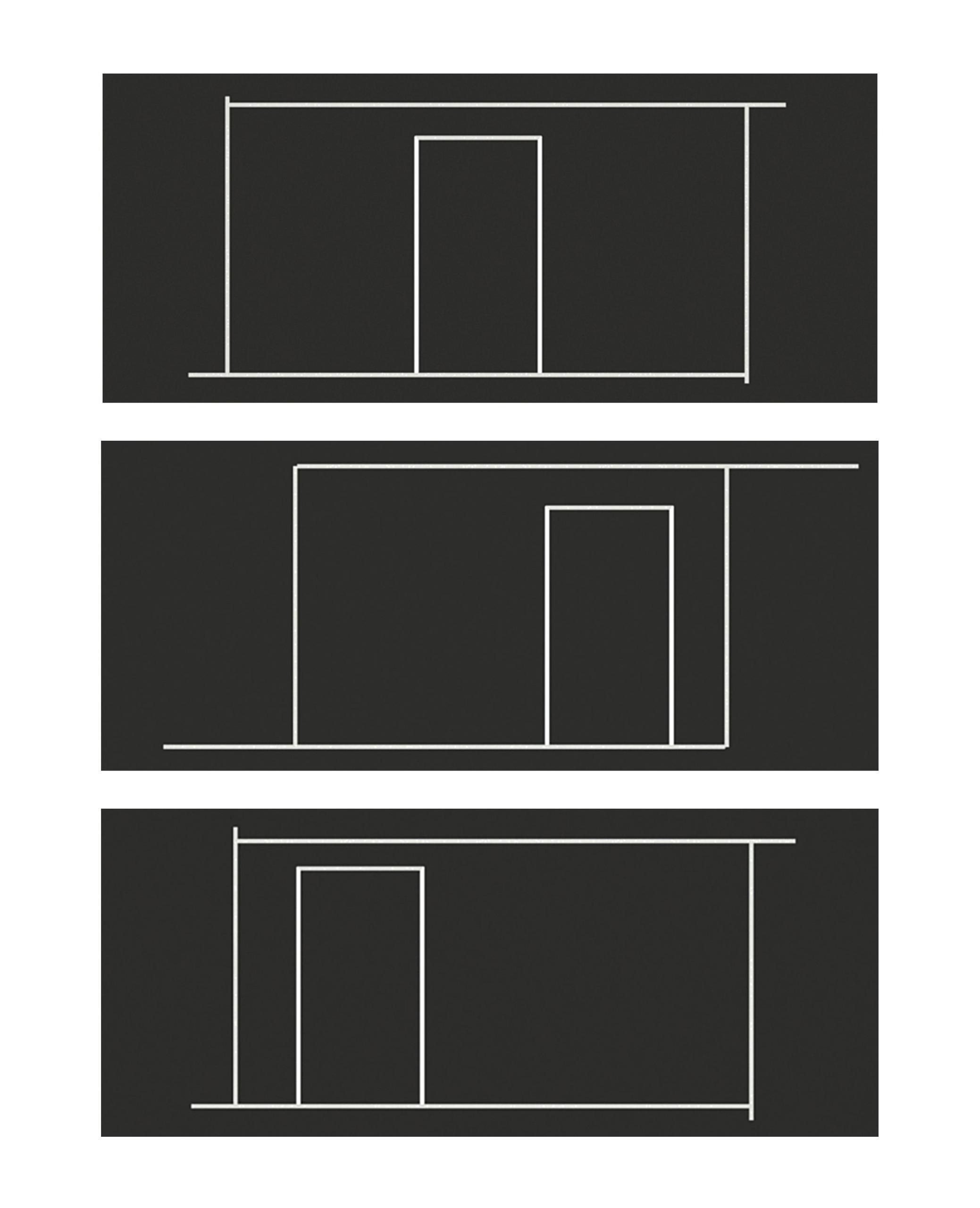Structure schématique de la table de coffrage